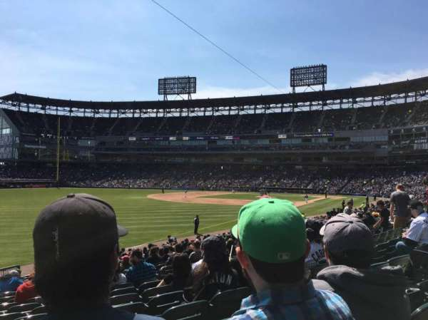 Guaranteed Rate Field, vak: 154, rij: 29, stoel: 3