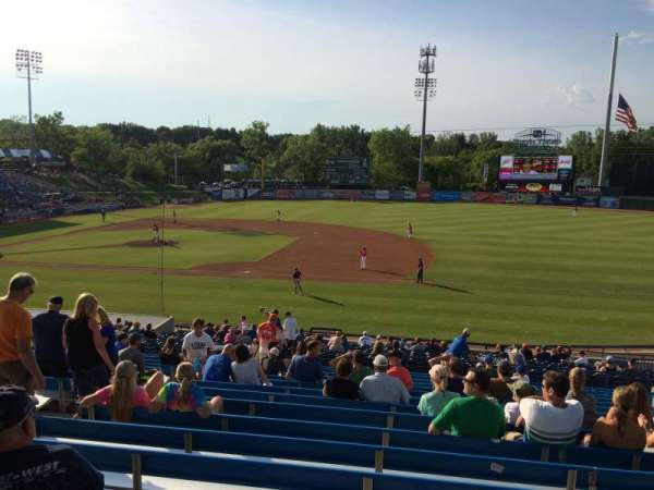 Fifth Third Ballpark, vak: 211, rij: 13, stoel: 6