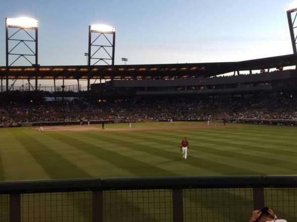 Salt River Fields, vak: Lawn