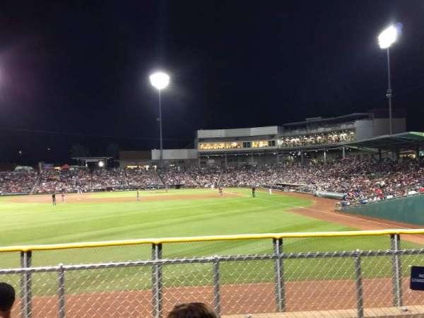 Goodyear Ballpark, vak: Berm