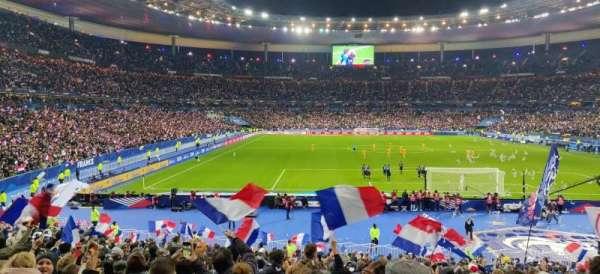 Stade de France, vak: K4, rij: 27, stoel: 22