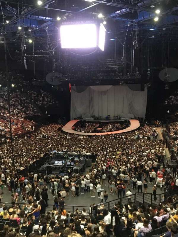 AccorHotels Arena, vak: Balcon A, rij: Rang 2, stoel: 21