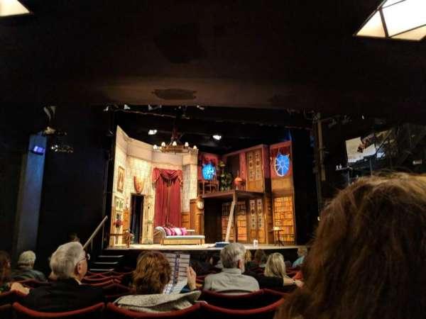 Duchess Theatre, vak: Stalls, rij: M, stoel: 21