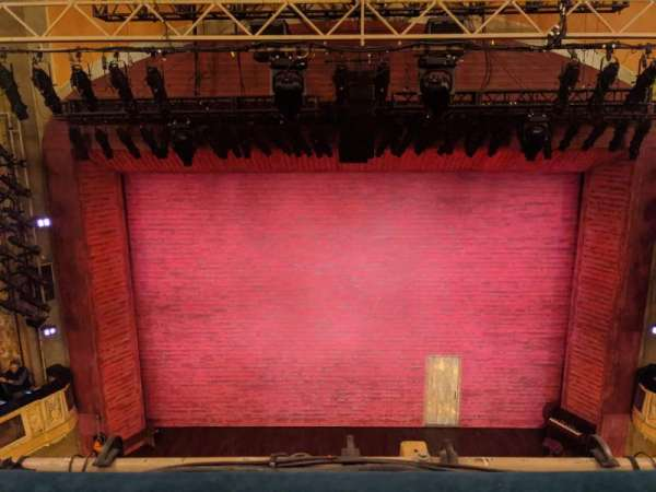 Shubert Theatre, vak: Balcony C, rij: A, stoel: 108