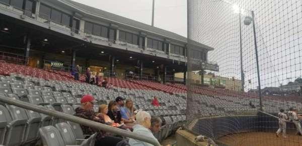 Dodd Stadium, vak: 10, rij: AA, stoel: 6