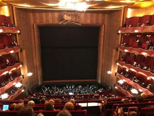 Metropolitan Opera House - Lincoln Center, vak: Balcony, rij: F, stoel: 101