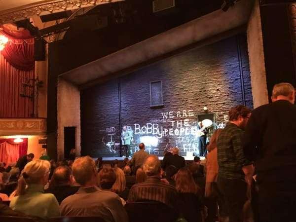 Bernard B. Jacobs Theatre, vak: Orch, rij: M, stoel: 6
