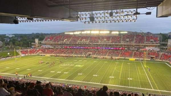 TD Place Stadium, vak: CC, rij: 23, stoel: 11