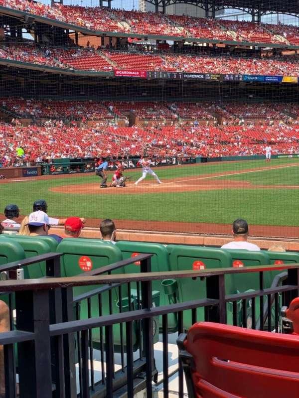 Busch Stadium, vak: 145D, rij: E, stoel: 3