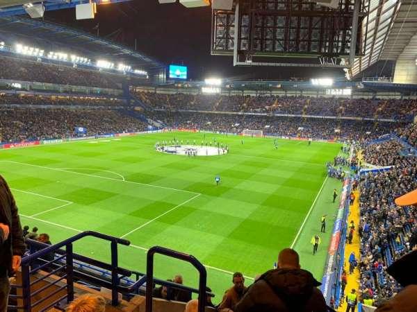 Stamford Bridge, vak: Shed Upper, rij: 13, stoel: 70