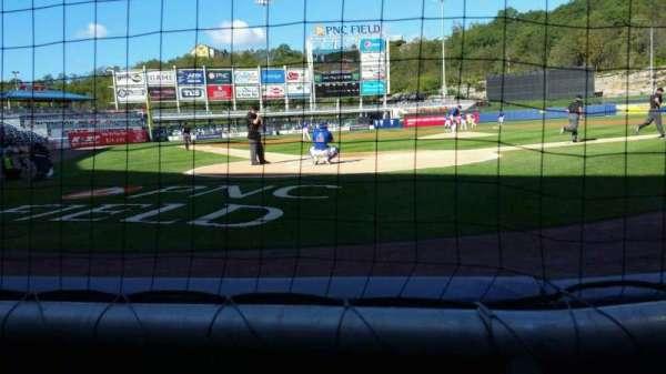 PNC Field, vak: 20, rij: 1, stoel: 6