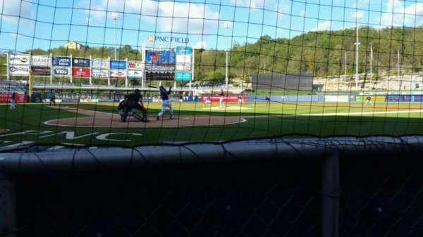 PNC Field, vak: 20, rij: 1, stoel: 5