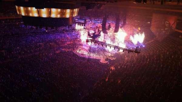 Madison Square Garden, vak: 311, rij: 1, stoel: 6