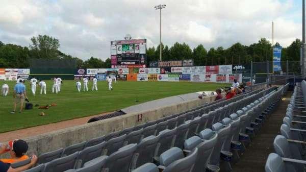 Dodd Stadium, vak: 3, rij: A, stoel: 1