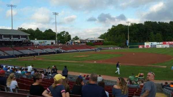 Dodd Stadium, vak: 3, rij: N, stoel: 1