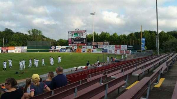 Dodd Stadium, vak: 3, rij: N, stoel: 11