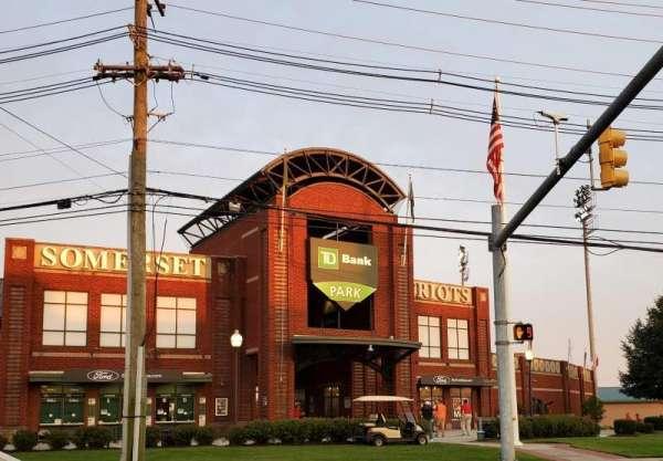 TD Bank Ballpark, vak: Main Entrance