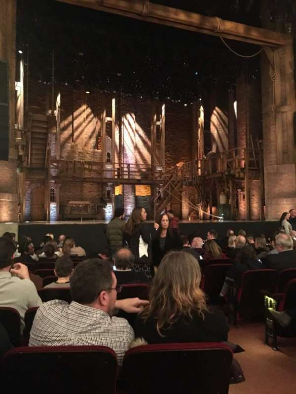 CIBC Theatre, vak: Orch-L, rij: N, stoel: 3