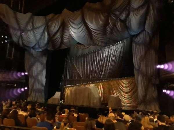 Majestic Theatre, vak: Orchestra, rij: K, stoel: 14