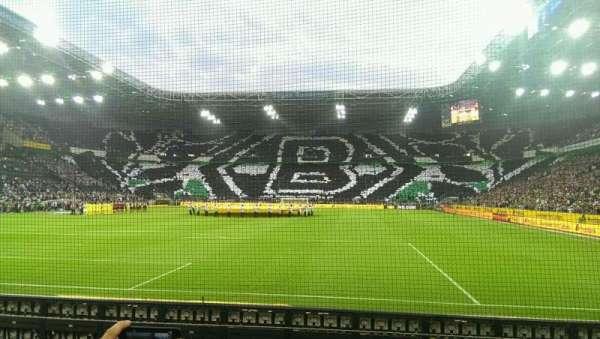 Borussia Park, vak: 5, rij: 5, stoel: 31