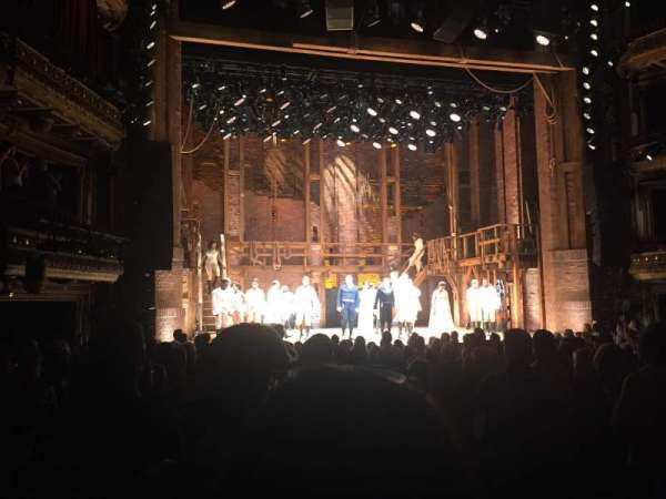 CIBC Theatre, vak: ORCH-L, rij: S, stoel: 1 - 3