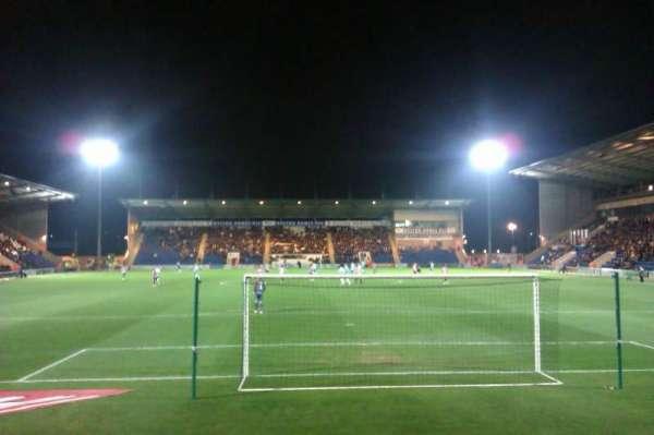 Colchester Community Stadium, vak: N3, rij: F, stoel: 78