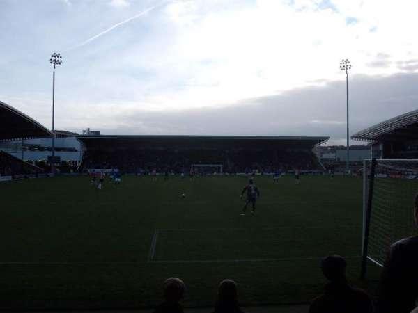 Proact Stadium, rij: F, stoel: 78