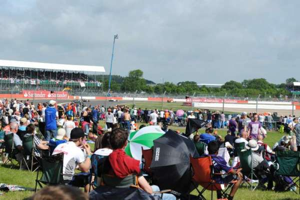 Silverstone Circuit, vak: General Admission
