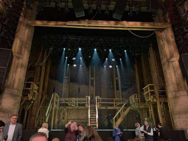 CIBC Theatre, vak: Orchestra C, rij: K, stoel: 105