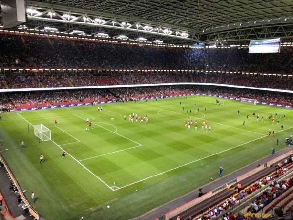 Principality Stadium, vak: U36