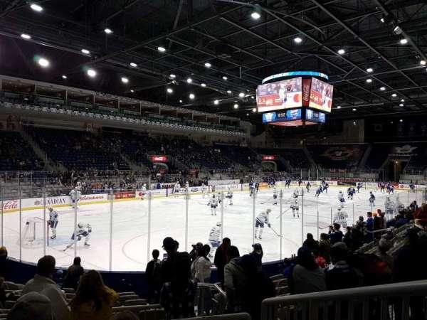 Ricoh Coliseum, vak: 113, rij: c, stoel: 15