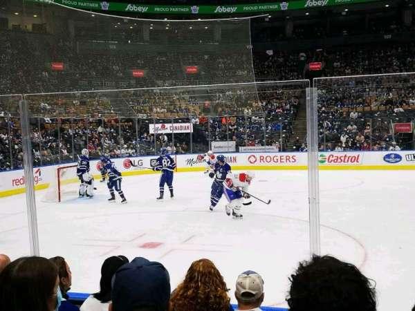 Scotiabank Arena, vak: 120, rij: 5, stoel: 16