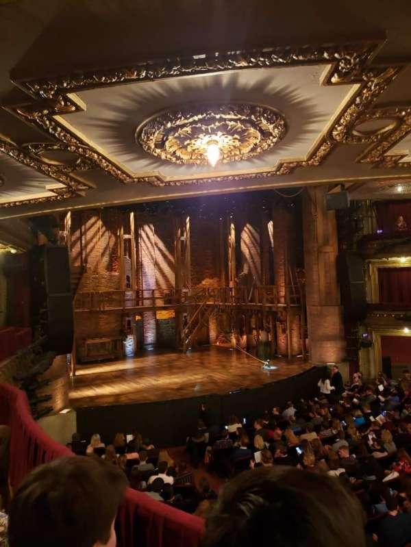 CIBC Theatre, vak: Dress Circle R, rij: B, stoel: 7