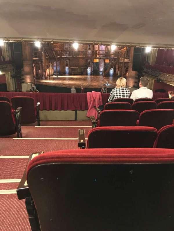 CIBC Theatre, vak: Dress Circle RC, rij: F, stoel: 222