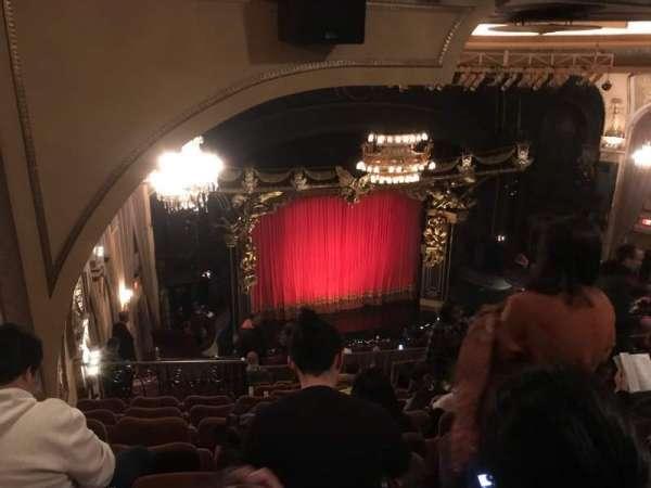 Majestic Theatre, vak: RMEZZ, rij: K, stoel: 11