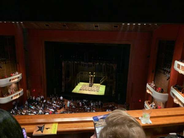 Au-Rene Theatre at the Broward Center, vak: BALRC, rij: B, stoel: 122