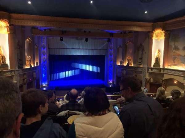 Egyptian Theatre (DeKalb), vak: Lower Balcony, rij: G, stoel: 25