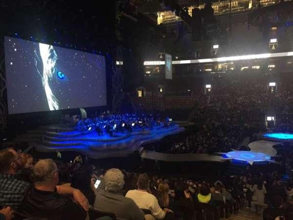 Scotiabank Arena, vak: 108, rij: 19, stoel: 24