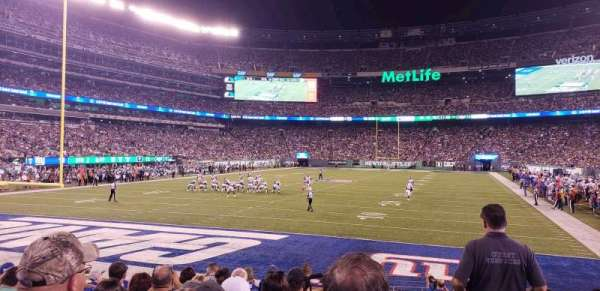 MetLife Stadium, vak: 149, rij: 10, stoel: 1