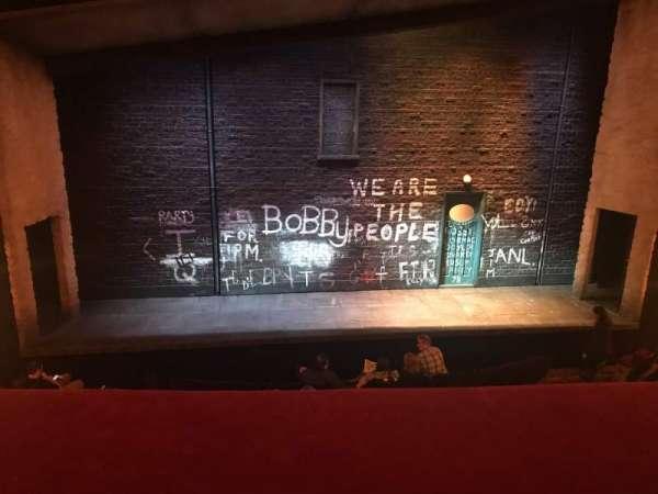 Bernard B. Jacobs Theatre, vak: MezzC, rij: A, stoel: 111