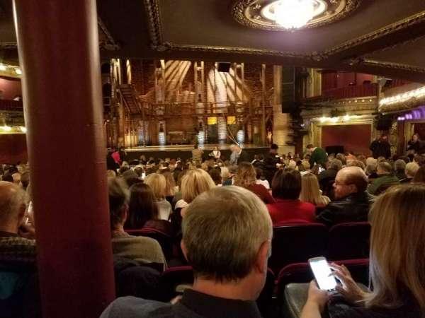 CIBC Theatre, vak: Orchestra RC, rij: Y, stoel: 117