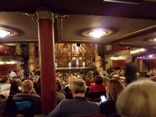 CIBC Theatre, vak: Orchestra RC, rij: Y, stoel: 116