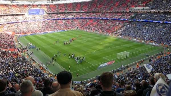 Wembley Stadium, vak: 544, rij: 7, stoel: 135