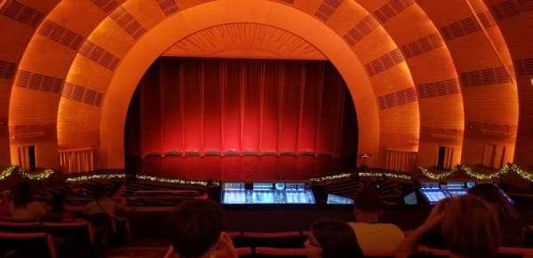 Radio City Music Hall, vak: 2nd Mezzanine 4, rij: G, stoel: 413