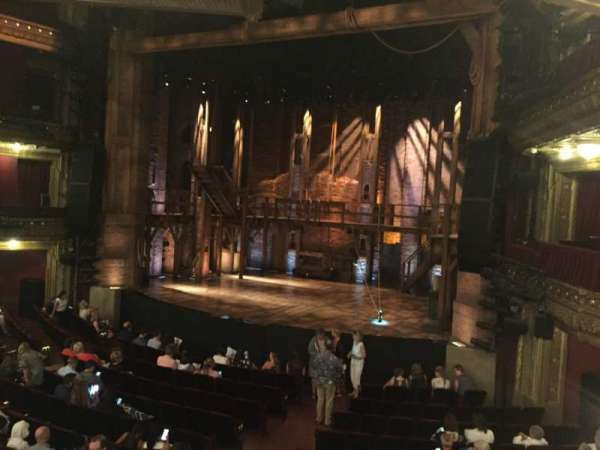 CIBC Theatre, vak: DRCR-R, rij: A, stoel: 2