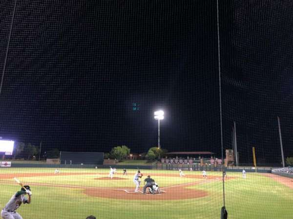 Scottsdale Stadium, vak: 103, rij: E, stoel: 3
