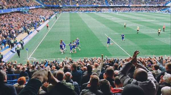 Stamford Bridge, vak: MATTHEW HARDING LOWER 14, rij: AA, stoel: 142