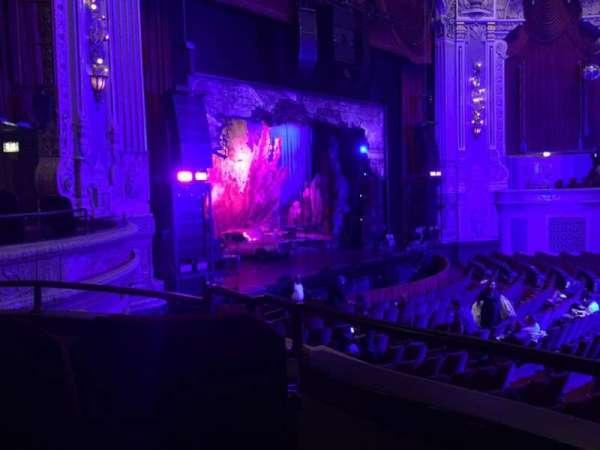 James M. Nederlander Theatre, vak: Dress Circle L, rij: CC, stoel: 5