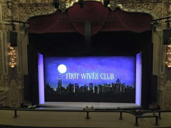 James M. Nederlander Theatre, vak: LOGE C, rij: D, stoel: 308