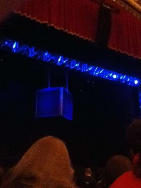 Cadillac Palace Theater, vak: Orchestra L, rij: J, stoel: 11